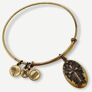 Alex & Ani Armenian Cross Bangle Charm Bracelet